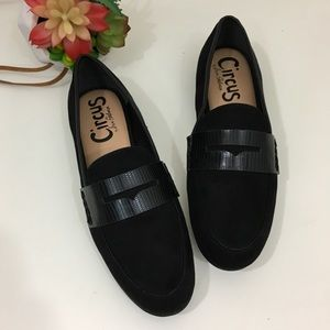 NEW Circus by Sam Edelman black suede loafers